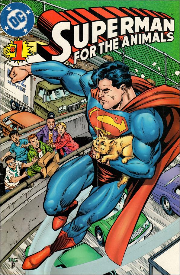 Superman for the Animals 1-A by DC