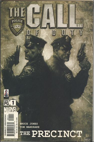 Call of Duty: The Precinct 1-A by Marvel