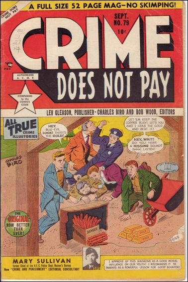 Crime Does Not Pay 79-A by Lev Gleason Productions