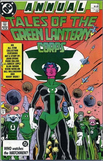 Tales of the Green Lantern Corps Annual 3-A by DC