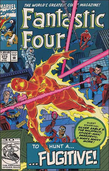 Fantastic Four (1961) 373-A by Marvel