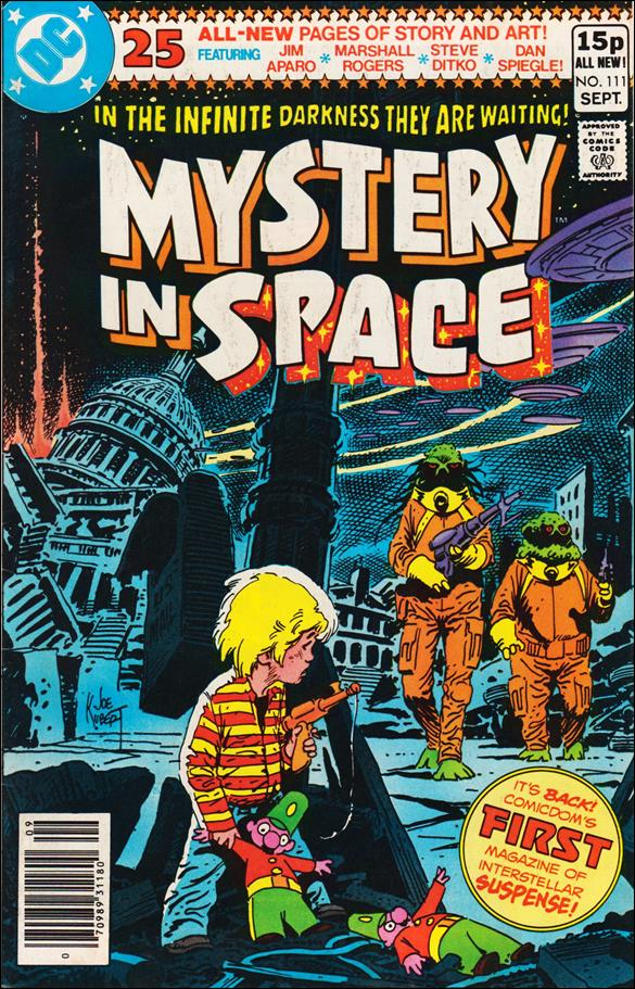 Mystery in Space (1951) 111-B by DC