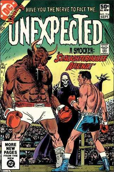 Unexpected (1968) 214-A by DC