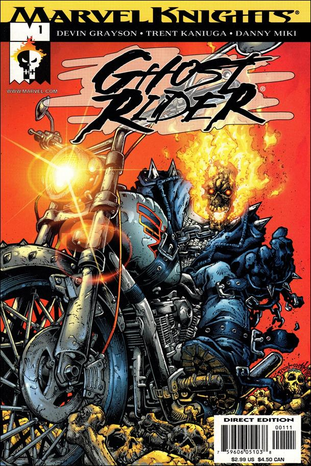 Ghost Rider (2001) 1-A by Marvel