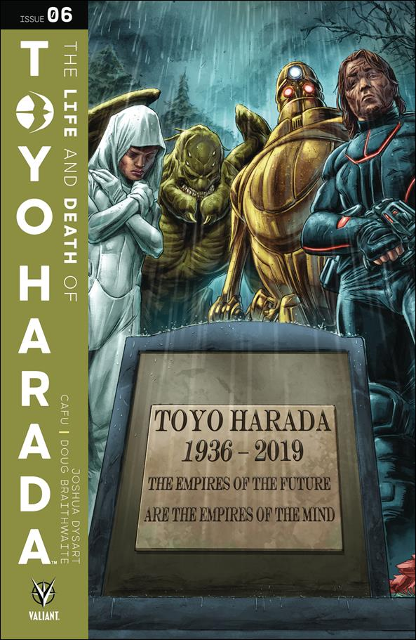 Life and Death of Toyo Harada 6-C by Valiant Entertainment