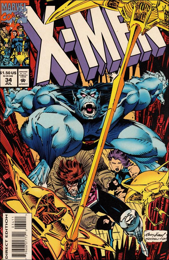 X-Men (1991) 34-A by Marvel