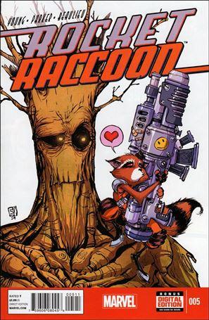 Rocket Raccoon (2014) 5-A