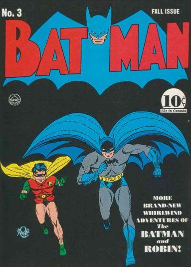 Batman (1940) 3-A by DC