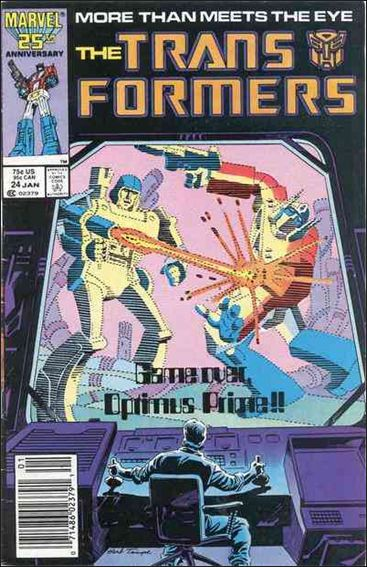 Transformers (1984) 24-A by Marvel