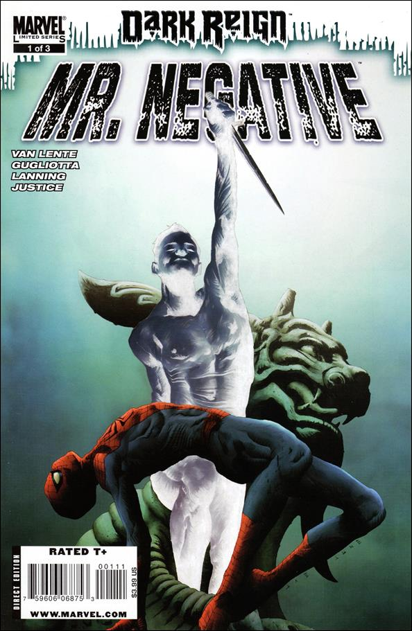 Dark Reign: Mister Negative 1-A by Marvel