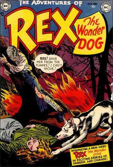 Adventures of Rex the Wonder Dog 1-A by DC