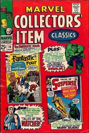 Marvel Collectors' Item Classics 10-A