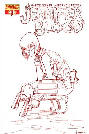 Jennifer Blood 1-F by Dynamite Entertainment