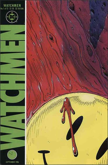 Watchmen 1-A by DC