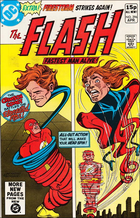 Flash (1959) 296-B by DC