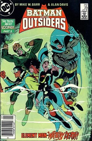 Batman and the Outsiders (1983) 29-A