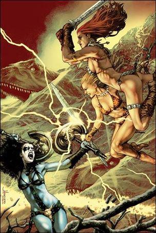 Swords of Sorrow: Red Sonja & Jungle Girl 3-C