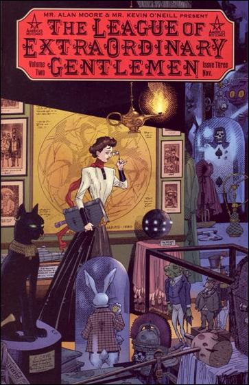 League of Extraordinary Gentlemen (2002) 3-A by America's Best Comics