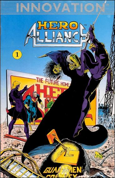 Hero Alliance (1989) 1-A by Innovation