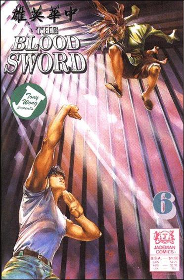 Blood Sword 6-A by Jademan Comics