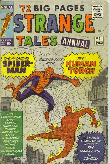 Strange Tales Annual 2-A by Marvel