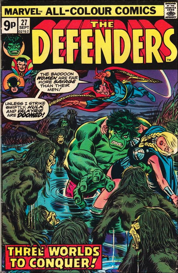 Defenders (1972) 27-B by Marvel