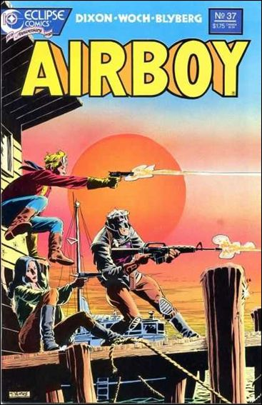 Airboy (1986) 37-A by Eclipse
