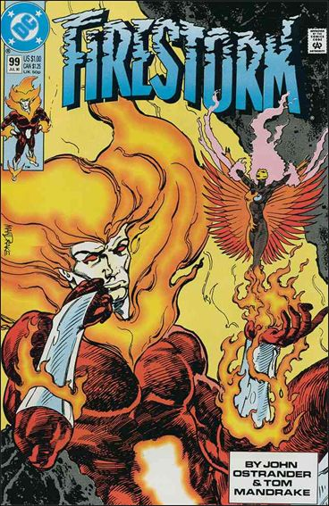 Firestorm The Nuclear Man (1987) 99-A by DC