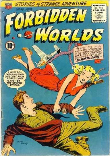 Forbidden Worlds (1951) 55-A by American Comics Group (ACG)