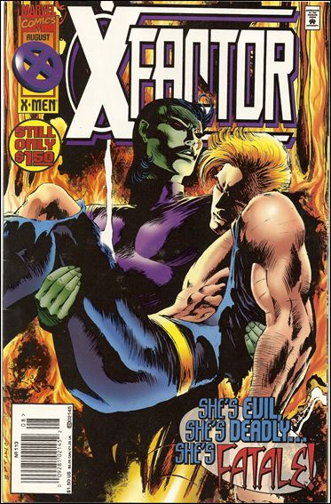 X-Factor (1986) 113-B by Marvel