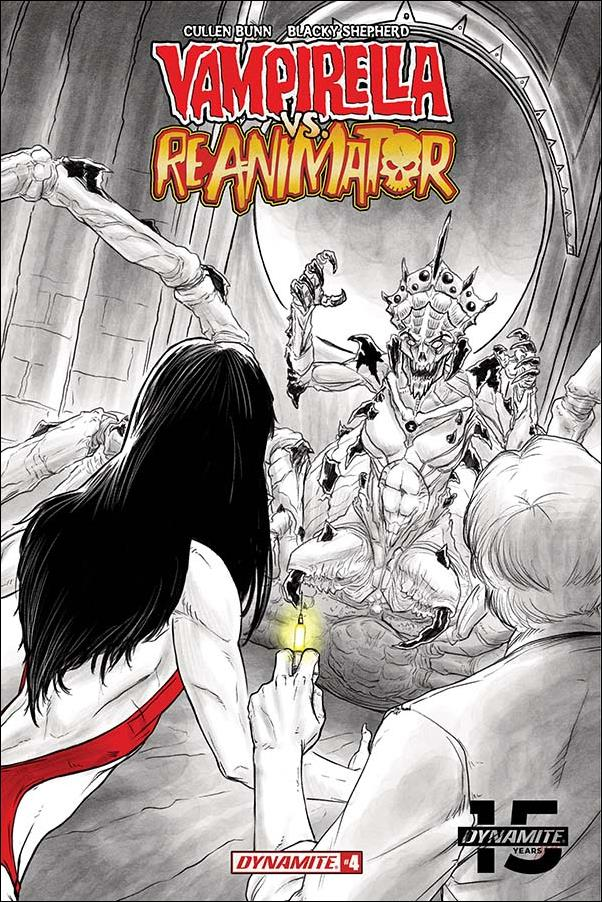 Vampirella vs Reanimator 4-C by Dynamite Entertainment