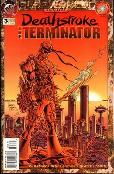 Deathstroke, the Terminator Annual 3-A by DC