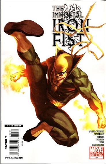Immortal Iron Fist 27-B by Marvel