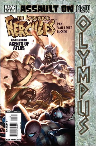 Incredible Hercules 141-A by Marvel