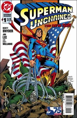 Superman Unchained 1-E