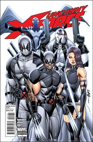 Uncanny X-Force (2010) 1-D