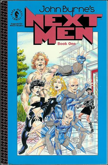 John Byrne's Next Men 1-A by Dark Horse
