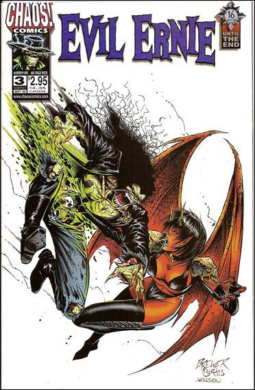 Evil Ernie (1997) 3-A by Chaos! Comics
