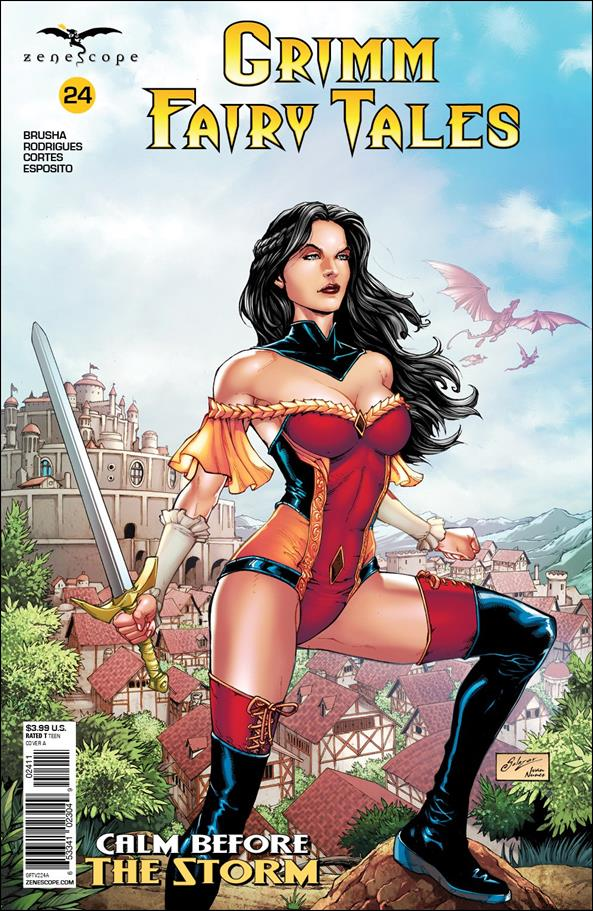 Grimm Fairy Tales (2016) 24-A by Zenescope Entertainment