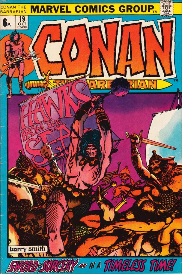 Conan the Barbarian (1970) 19-B by Marvel