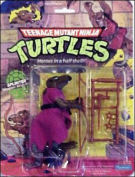 Teenage Mutant Ninja Turtles (1988) Splinter by Playmates