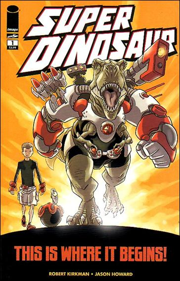 Super Dinosaur 1-A by Skybound Entertainment