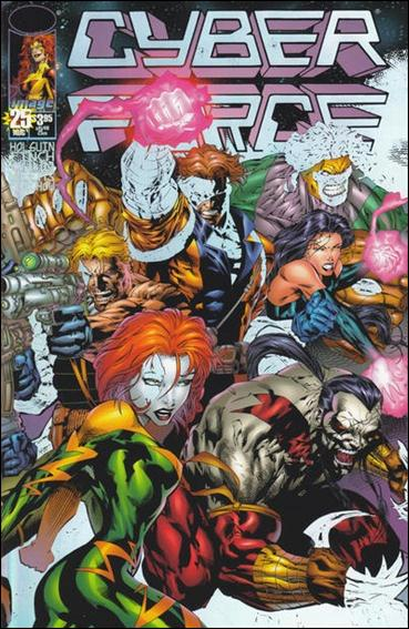 Cyberforce (1993) 25-A by Image