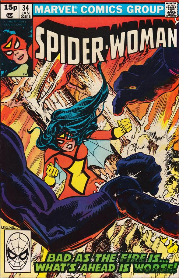 Spider-Woman (1978) 34-B by Marvel