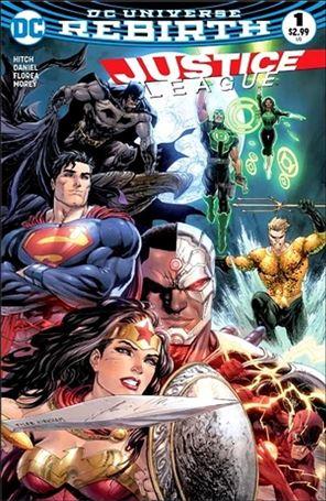Justice League (2016) 1-K
