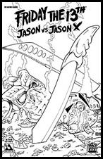 Friday the 13th: Jason vs Jason X 2-D by Avatar Press