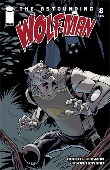 Astounding Wolf-Man 8-A by Image