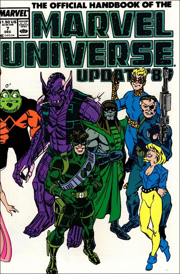 Official Handbook of the Marvel Universe (1989) 7-A by Marvel