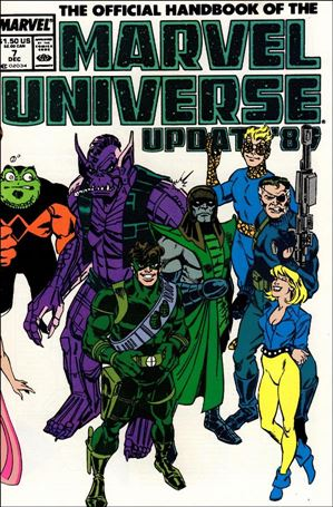 Official Handbook of the Marvel Universe (1989) 7-A
