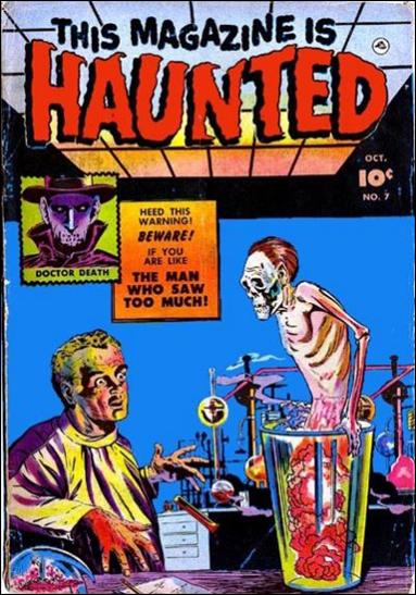 This Magazine is Haunted (1951) 7-A by Fawcett